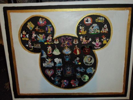 Disney Pin collection by lilkimmi27