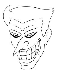 Joker Outline by Fireking10