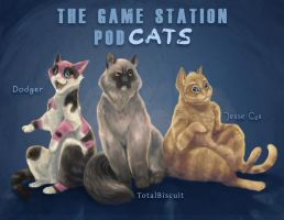 The Game Station Podcats by Daumie
