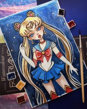 Sailor Moon by BlackFurya