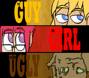 The Guy, The Girl and The Ugly by Neyebur