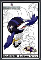 NFL Rush Zone - Black Wing by Rakkstead