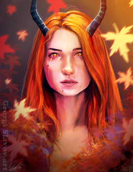 Autumn Banshee by G-manbg