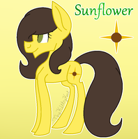 Sunflower by TheKittyKatUnion
