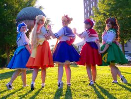 SAILOR MOON // Poodle Scouts by adrawer4ever