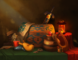 Zelda Still Life by Photia