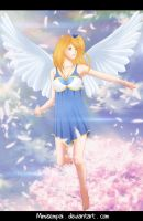 Fanart Fairy Tail Angels _ Lucy Heartfilia by MimiSempai