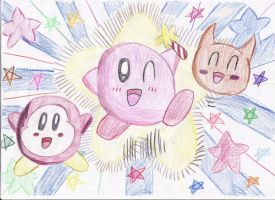 Kirby Drawing by SmashBros2008