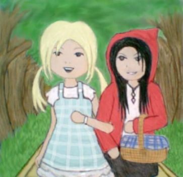 Goldilocks and Red Riding Hood by DIABLOMITS