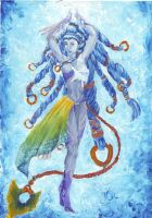 Shiva the Ice Queen by Midori-ossan