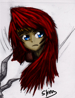 Gravelyn Colored. (Head) by ShinnDes