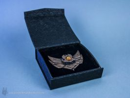 League of Legends Bronze Badge Pin by blackmaskedfox