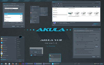 Akula WB for 7 + 8 by vStyler
