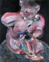 2013 Study for Putto after drawing by Raphael by RyckRudd