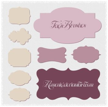 Beautiful Tags Brushes by Romenig