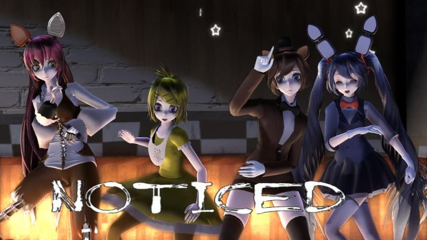 MMD Five Nights At Meiko's - Noticed by Torchic73