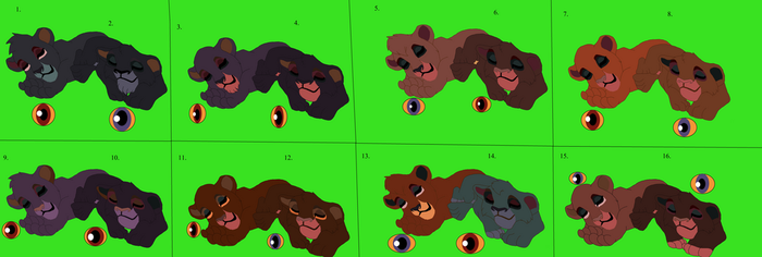 LeoXLily's cubs Adoption(Closed) by 99balto12