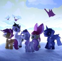 CUITE SNOW MARKS by PUFFINSTUDIOS