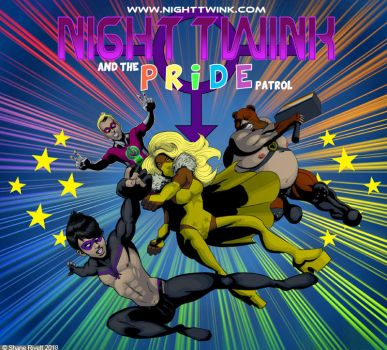 Night Twink and the Pride Patrol by shaneoid77