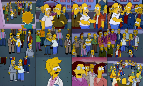 The Simpsons Relatives on Homer Side by dlee1293847