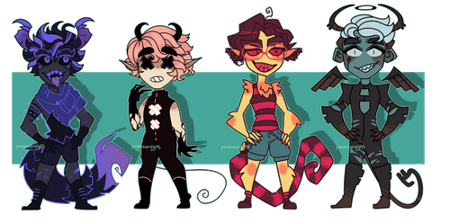 Monster adopts xv - [closed] by pw-adopts