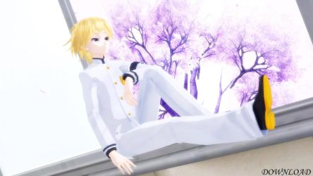 [MMD + DL] TDA Student Executive Len by Sumire9