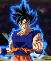 Goku Ultra Instinct - Dragon Ball Super by SenniN-GL-54