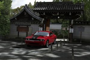 a challenger in kyoto 3 by JoshuaCordova