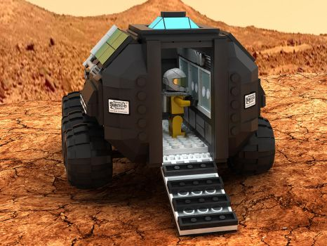 Mars Rover Concept Vehicle 02 by Steam-HeART