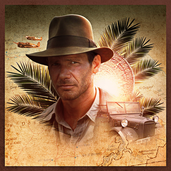 Indiana Jones Artwork by E-SPACE-Productions