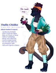 Thulile by CatnipExecutie