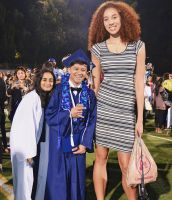 Tall girl at graduation by lowerrider