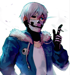 Hot dang it's Sans by RoyalNoir
