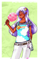 Cotton Candy Choko by divi