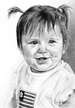 Anna 1 year old by shawnSass