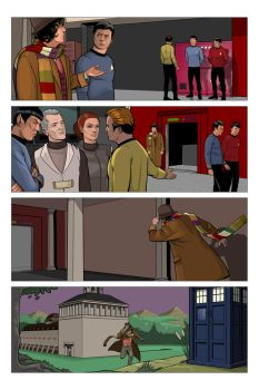 Star Trek:TNG / Doctor Who : Interior Page 11 by sharpbrothers