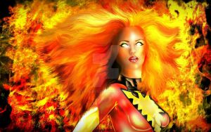 Dark Phoenix by lotus73