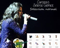 Cursores Selena Gomez {Seleccion Normal} by Cursorsandmore