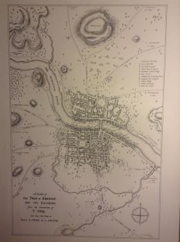 Map of Arkham Massachusetts 1775 by riq1977