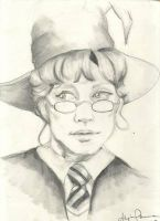 Young Professor McGonagall by lyvvie