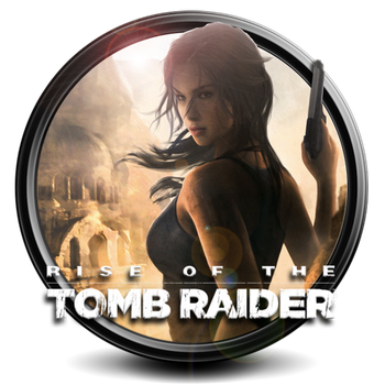 Rise of the Tomb Raider png icon by S7 by SidySeven