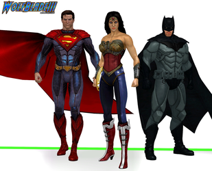 DC Trinity by WOLFBLADE111