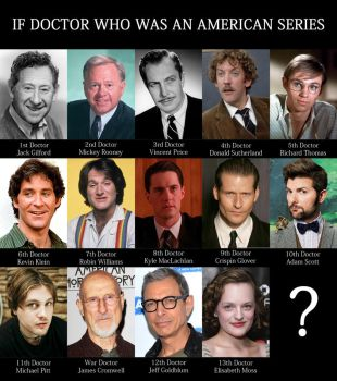 DOCTOR WHO USA RE-CAST by MrPacinoHead
