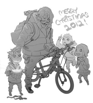 Merry Christmas 2012~ by nonamex7