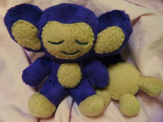 Sleepy Aipom Plush by Pickelicious