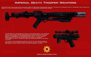 Death Trooper Weapons tech readout [New] by unusualsuspex