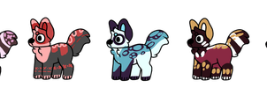 Open 40 point dog adopts by Poliipolly