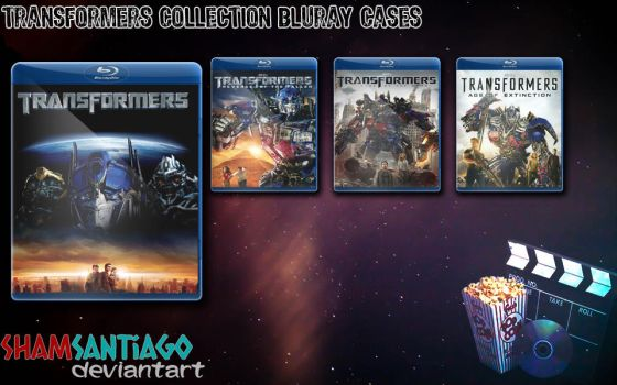 Transformers Collection Bluray Cases by ShamSantiago