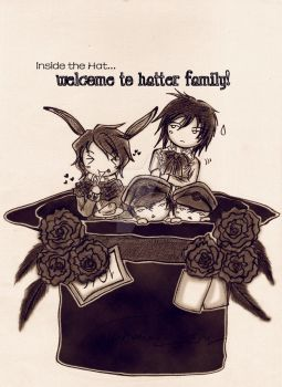 .:: Hatter Family ::. by NakaAmi8393