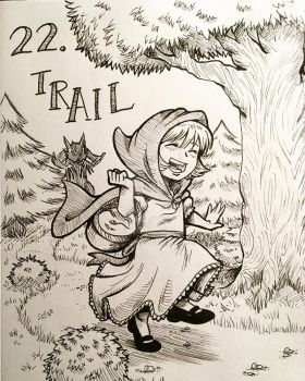 Inktober 2017: Trail by InnuDoggy
